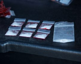 London Police arrest two in possession of meth during a traffic stop on Hill Street