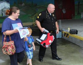 London Police partner with CVADD to provide free child booster seats