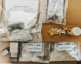 London Police arrest female with large amounts of methamphetamine and other drugs