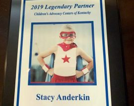 London Police Detective Stacy Anderkin Receives CAC Kentucky 2019 Legendary Partner Award
