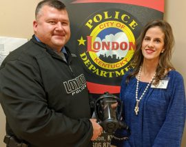 London Police receive personal protective equipment through Laurel County ASAP